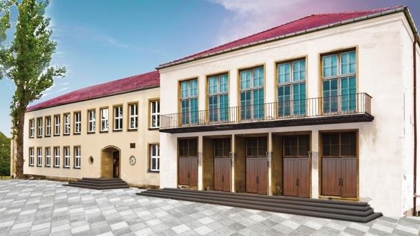 Farbe für das Kulturhaus GeiseltalSee