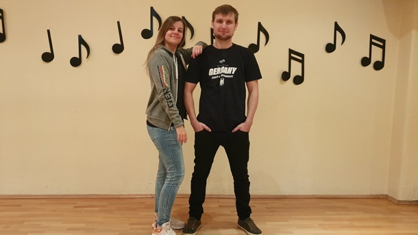 Duo Dancer Rostock tanzen im Nationalkader CCVD