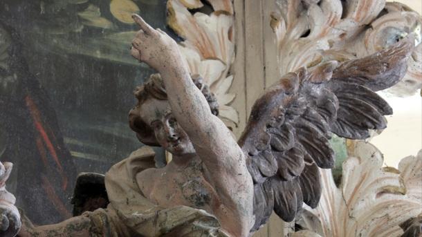 Meisterwerk in kleiner Kirche braucht Hilfe