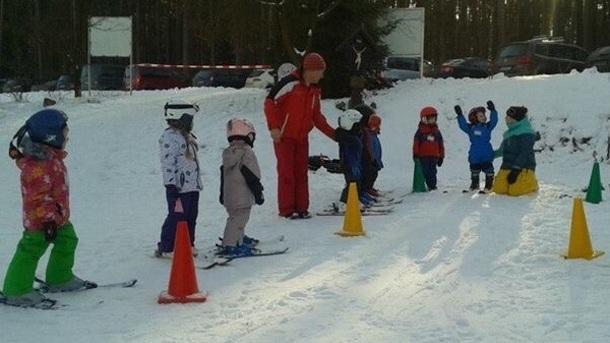 Kinder-Skikurs - Hilfsmittel & Pistengestaltung