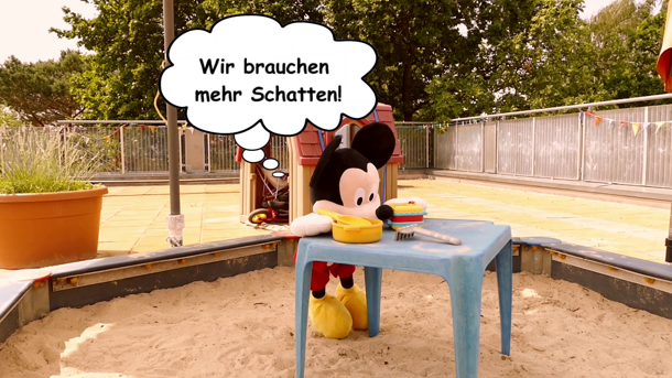 """Mehr Sonnenschutz für die Mäuse der Kita """"Zwergenland"""" in Koserow"""