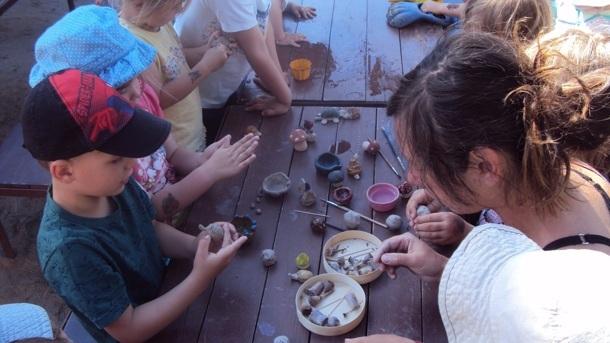 Brennofen für die Kinderwerkstatt Oberlichtenau