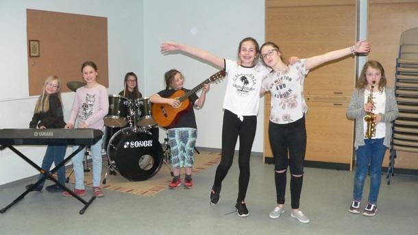 Musikunterricht für Kinder allein erziehender Mütter