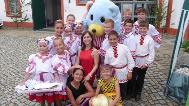 Begegnungen von TänzerInnen aus Bautzen und Belarus