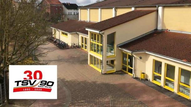 Anbau Turnhalle - 30 Jahre TSV 90 Röbel