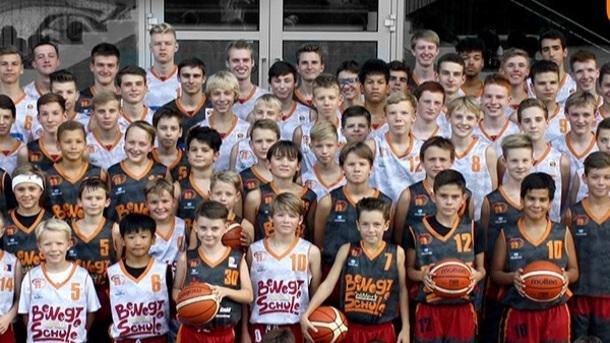 Basketball-Pass-Maschine für NINERS Chemnitz