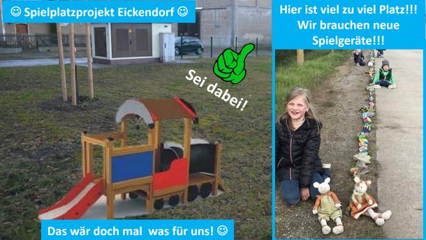 Spielspaß für die Eickendorfer Kinder