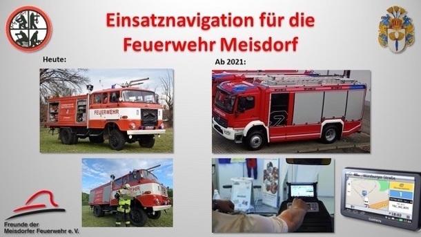 Einsatznavigation für die Meisdorfer Feuerwehr