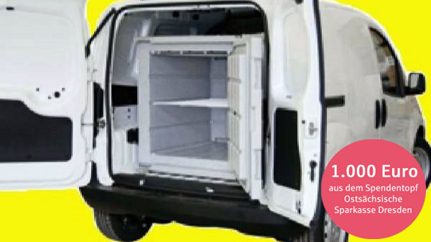 Mobile Kühlcontainer für die Tafellogistik
