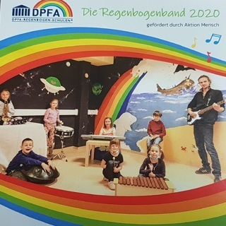 Audio-CD DPFA-Regenbogen-Band