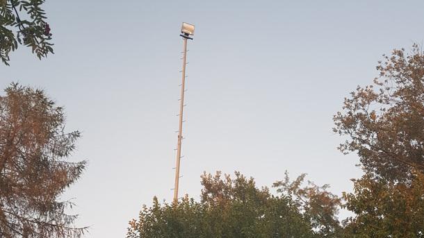 SV Griesbach, Renovierung Flutlichtanlage