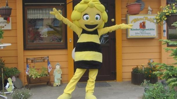 """Neuer Spielplatz für die Kita """"Biene Maja"""""""