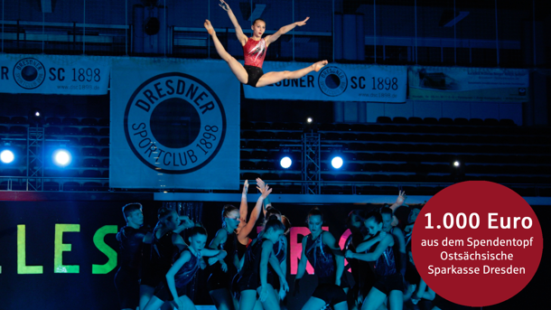 Wir wollen hoch hinaus: 23 Dresdner Sportakrobaten in Israel