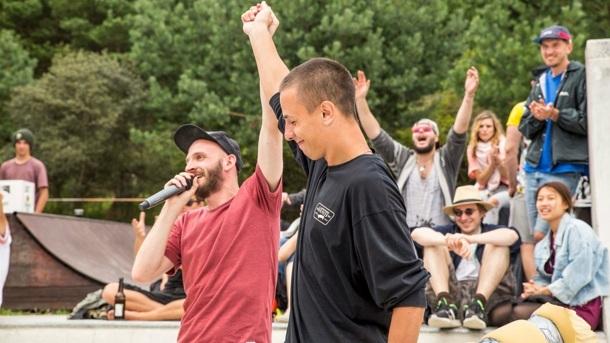 Jährlicher Skateboard - Wettbewerb des Rügen rollt! e.V.