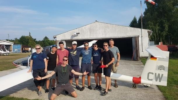 Grundüberholung Segel-Schulflugzeug