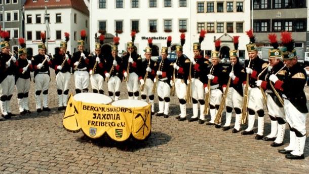 Tonaufnahmen der einmaligen Freiberger Russisch-Horn-Musik