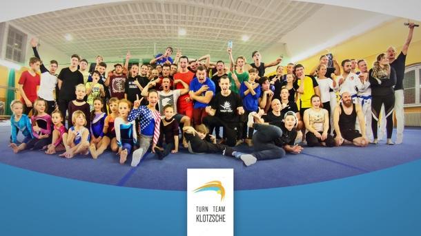 Turn Team Klotzsche - Airtrack für die Nachwuchsturner