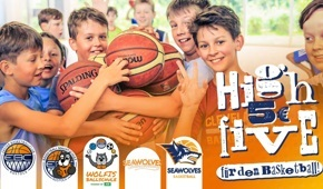 Dein High Five für den Basketball in Rostock!