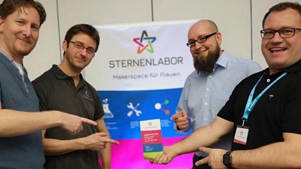 Sternenlabor - gemeinsam Ideen verwirklichen
