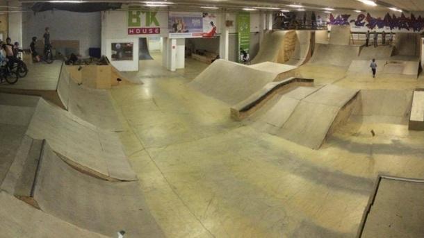 Erhaltung der einzigen Skatehalle MV´s