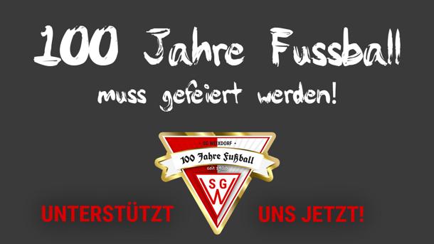 Jubiläum in 2020: 100 JAHRE Fußball in der SG Weixdorf
