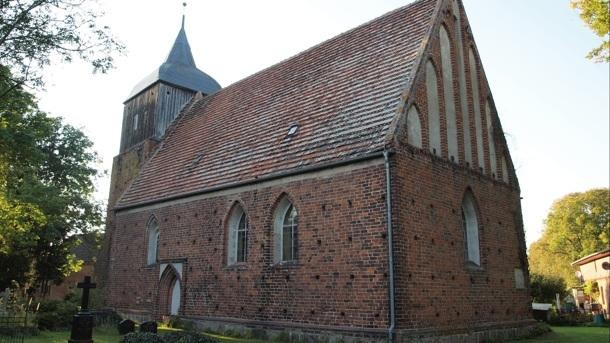 Innensanierung der Dorfkirche Buchholz Müritz