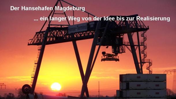 Die Magdeburger Häfen und die Elbeschifffahrt- Chronologie